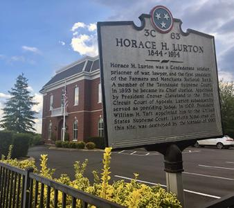 Horace Lurton Sign