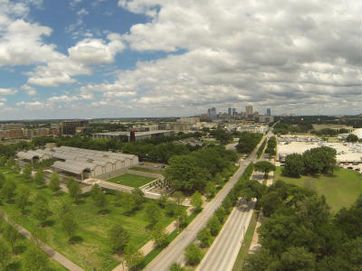 Cultural District Drone Kimbell Kahn