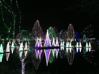 wildlights at the columbus zoo and aquarium