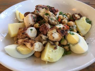 Octopus Salad at Kipos