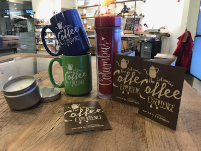 Coffee Merchandise at Visitor Centers