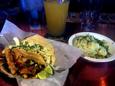 Tacos at Local Cantina