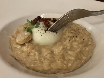 Veritas Bacon Risotto