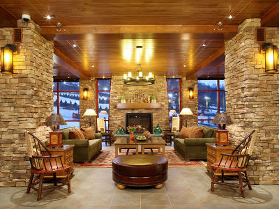 Bear Creek Mountain Resort Lobby