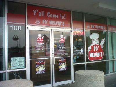 Exterior Po' Melvin's