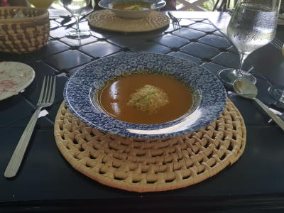 Summerhouse: Sherried Pumpkin Bisque