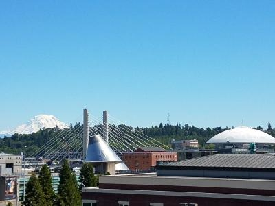 View from Tacoma Art Museum balcony