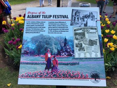 Nijmegen plaque in Washington Park