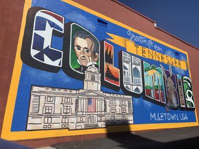 Columbia Mural