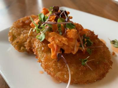 Gourmet dish from Alqueria Restaurant