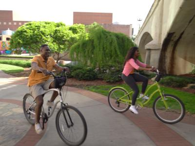 Biking in RiverPlace