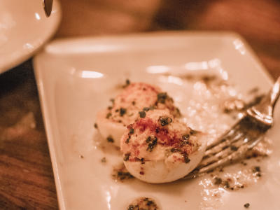 Del Friscos Irvine Deviled Eggs