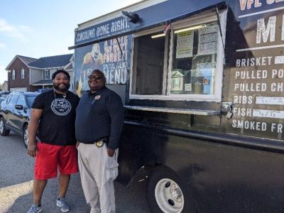 Smith's Endzone BBQ food truck