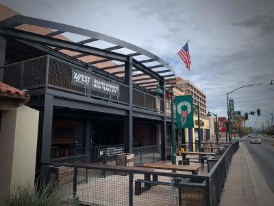12 West Brewery on Main St in Mesa