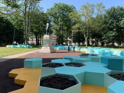 Washington Park in Newark, NJ