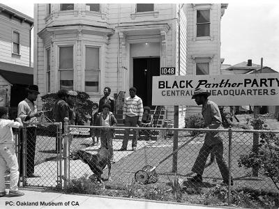 Old Black Panther Party Headquarters