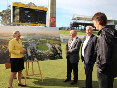 WACA Ground Vision Becomes A Reality
