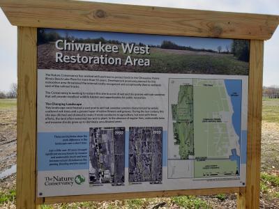 Chiwaukee Prairie Sign 1