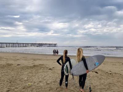 Pismo Beach Surfers