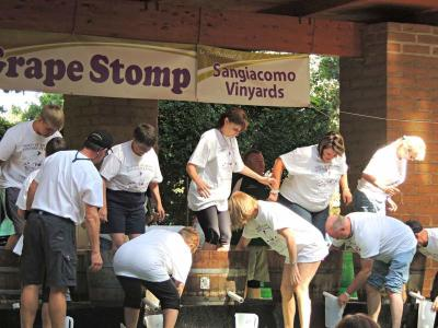 Grape Stomp Vintage Festival