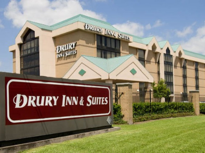 External view of Drury Inn & Suites Sugar Land.