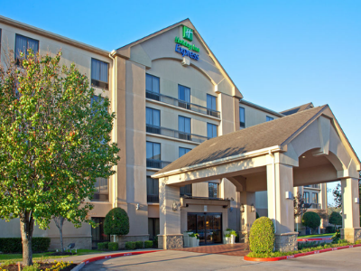 External view of Holiday Inn Express Sugar Land.