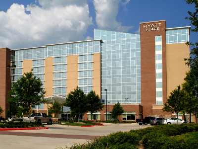 External view of Hyatt Place Sugar Land.