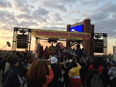 Live music at the Taste of Louisiana Festival