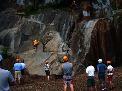 Rock Climbing at Alapocas Run State Park