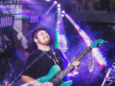 Phyphr bassist, Nick Locke