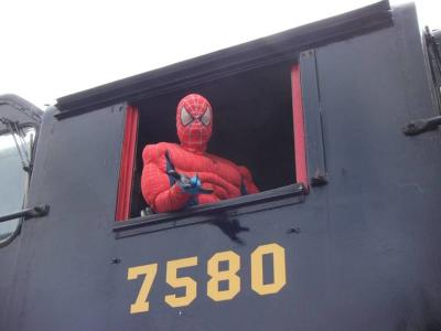 Superhero train