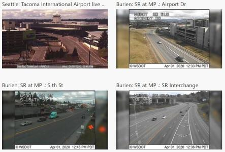 SeaTac web cams