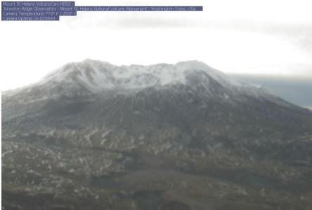 Mount St. Helens Live Webcam