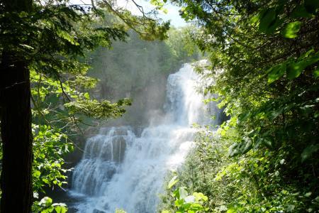 Waterfalls in Chittenango, NY