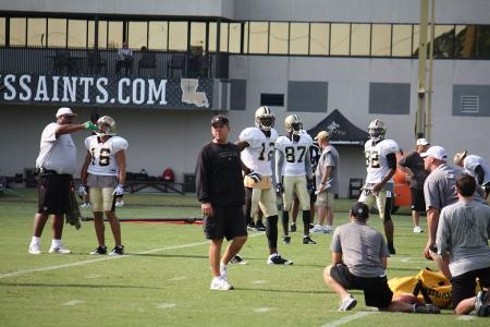 Saints Training Camp