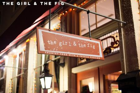 the girl & the fig