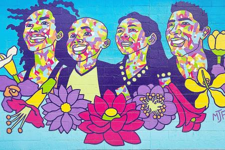Ethnicity Mural