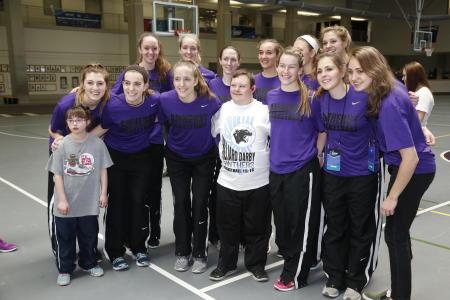 2016 NCAA DIII Women's Basketball Community Service