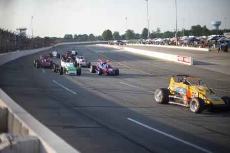 Sprint Cars as Lucas Oil Raceway