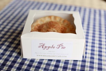 Sweetie pie, apple pie Bread Basket Cafe & Bakery