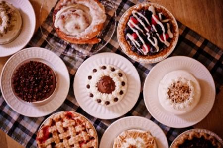 Bread Basket pies, tarts, cakes