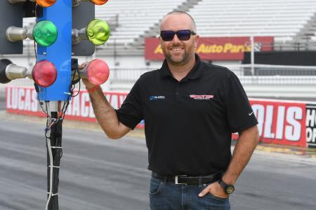 Shawn Langdon at Lucas Oil Raceway