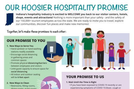 Hoosier Hospitality Promise flyer