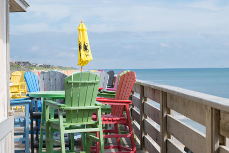 nags head fishing pier - happy hour