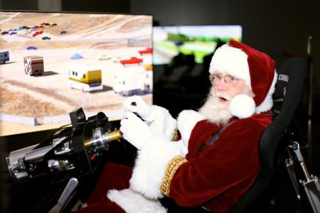 Santa at LeMay - America's Car Museum