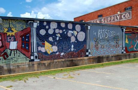 The Art Studio Mural