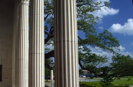 Julie Rogers Theatre Columns