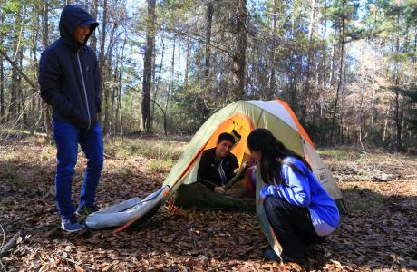 Primitive Back-country Camping in the Big Thicket