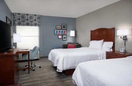 Hampton Inn Double Beds