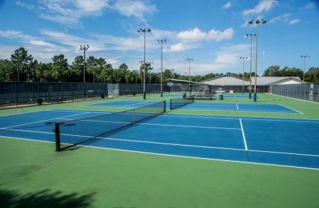 Beaumont Tennis Center Courts
